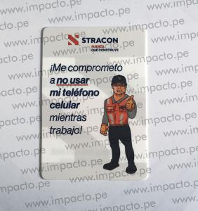 Starcom Tarjeta Otros Poliestireno Publicidad Merchandising