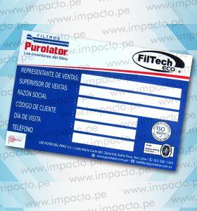 Sticker Purolator