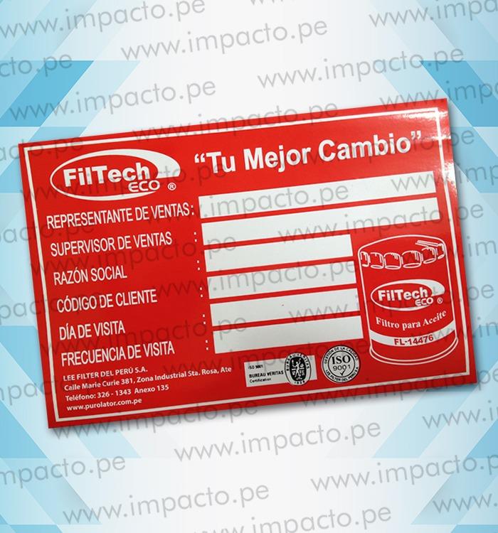 Sticker Filtech