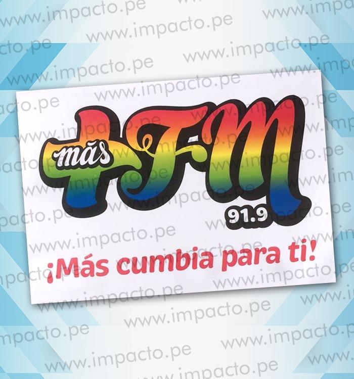 Sticker MasFM